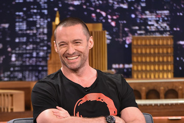 "Hugh Jackman Hugh Jackman Visits ""The Tonight Show Starring Jimmy Fallon"""