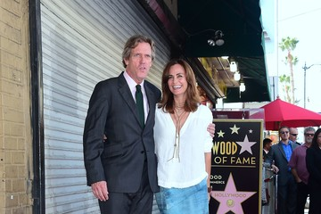 Hugh Laurie Hugh Laurie Is Honored With a Star on the Hollywood Walk of Fame
