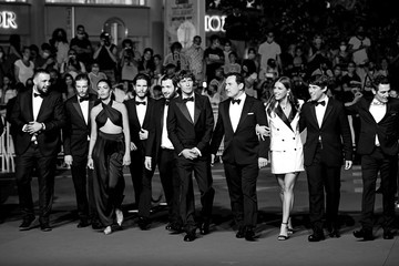 """Hugo Selignac Kenza Fortas """"Bac Nord"""" Red Carpet - The 74th Annual Cannes Film Festival"""