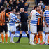 Joey Barton Photos - Joey Barton of QPR (3L) is shown a red card and is sent off by referee Anthony Taylor during the Barclays Premier League match between Hull City and Queens Park Rangers at KC Stadium on February 21, 2015 in Hull, England. - Hull City v Queens Park Rangers - Premier League
