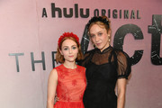 """Chloe Sevigny (R) i and AnnaSophia Robb attend Hulu's """"The Act"""" New York Premiere at The Whitby Hotel on March 14, 2019 in New York City."""