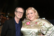 """Steve Buscemi and Executive Producer Lindy West attend Hulu's """"Shrill"""" New York Premiere at Film Society of Lincoln Center - Walter Reade Theater on March 13, 2019 in New York City."""