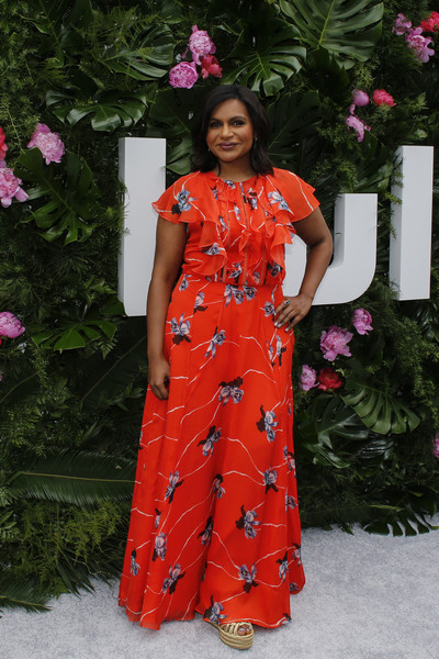 Actress Mindy Kaling