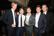 (L-R) Jay Paulson, Graham Patrick Martin, Jon Rudnitsky, Rafi Gavron and Lewis Pullman attend Hulu's 2018 Emmy Party at Nomad Hotel Los Angeles on September 17, 2018 in Los Angeles, California.