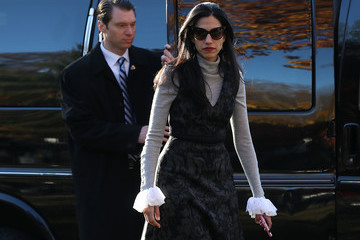 Huma Abedin Democratic Presidential Candidate Hillary Clinton Casts Her Vote On Election Day