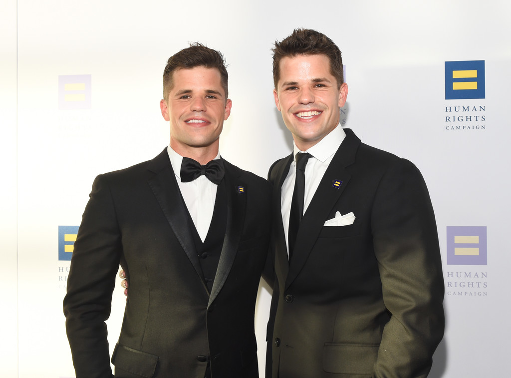 Max Carver in The Human Rights Campaign 2017 Los Angeles ...
