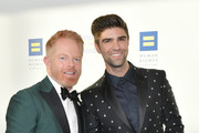 Jesse Tyler Ferguson and Justin Mikita attend the Human Rights Campaign 2019 Los Angeles Dinner at JW Marriott Los Angeles at L.A. LIVE on March 30, 2019 in Los Angeles, California.