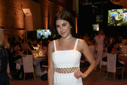 Actor Daniella Monet at The Humane Society of the United States' To the Rescue Los Angeles Gala at Paramount Studios on April 22, 2017 in Hollywood, California.