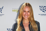 E! News Correspondent Ashlan Gorse arrives to The Humane Society of the United States' Veg Appetit at Smogshoppe on June 16, 2013 in Los Angeles, California.