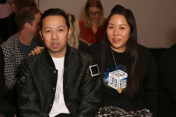 Humberto Leon Opening Ceremony - Front Row - Mercedes-Benz Fashion Week Fall 2014