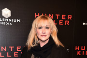 "Amy Sacco attends the ""Hunter Killer"" World Premiere at Intrepid Sea-Air-Space Museum on October 22, 2018 in New York City."