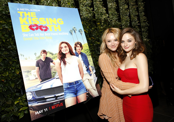 'The Kissing Booth' Special Screening [the kissing booth special screening,photography,event,tree,adaptation,leisure,hunter king,joey king,california,los angeles,netflix,screening]