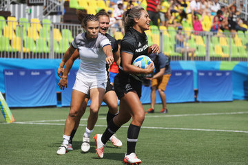 Huriana Manuel Rugby - Olympics: Day 2