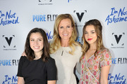 """Korie, Bella, and Sadie Robertson attend the """"I'm Not Ashamed"""" Movie Premiere at the historic Belcourt Theater  on October 10, 2016 in Nashville, Tennessee."""
