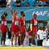 Tyson Gay Ryan Bailey Photos - Justin Gatlin, Ryan Bailey, Tyson Gay, and Mike Rodgers of the United States stand on the podium after winning the final of the menÂ's 4 x 100 metres  on day one of the IAAF World Relays at Thomas Robinson Stadium on May 2, 2015 in Nassau, Bahamas. - IAAF World Relays