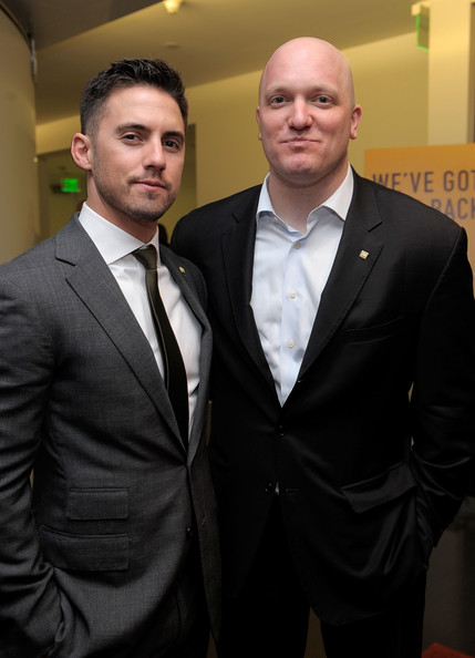 Actor Milo Ventimiglia and IAVA Founder & Executive Director Paul Rieckhoff attend IAVA's Second Annual Heroes Celebration held at CAA on April 29, 2010 in Los Angeles, California.