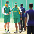 Vincent Barnes ICC Cricket World Cup: Proteas Training Session