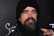 """Peter Dinklage attends a screening of """"Three Christs"""" hosted by IFC and the Cinema Society at Regal Essex Crossing on January 09, 2020 in New York City."""