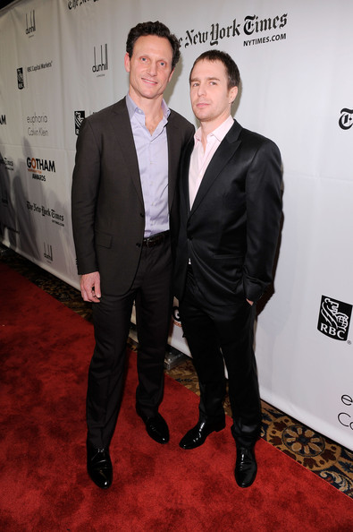 Actors Tony Goldwyn and Sam Rockwell attend IFP's 20th Annual Gotham Independent Film Awards at Cipriani, Wall Street on November 29, 2010 in New York City.