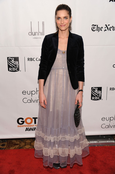 Actress Amanda Peet attends IFP's 20th Annual Gotham Independent Film Awards at Cipriani, Wall Street on November 29, 2010 in New York City.