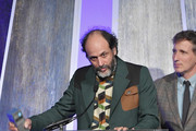 Luca Guadagnino speaks onstage during IFP's 27th Annual Gotham Independent Film Awards on November 27, 2017 in New York City.