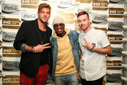 """Andrew Slyfox, Ne-Yo and Jeff Johnson attend """"A Toast To Travel"""" presented by the IHG Rewards Club at Kimpton Hotel Eventi on November 28, 2018 in New York City."""