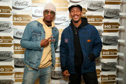 "Singer-songwriter Ne-Yo and Carlos Harris attend ""A Toast To Travel"" presented by the IHG Rewards Club at Kimpton Hotel Eventi on November 28, 2018 in New York City."