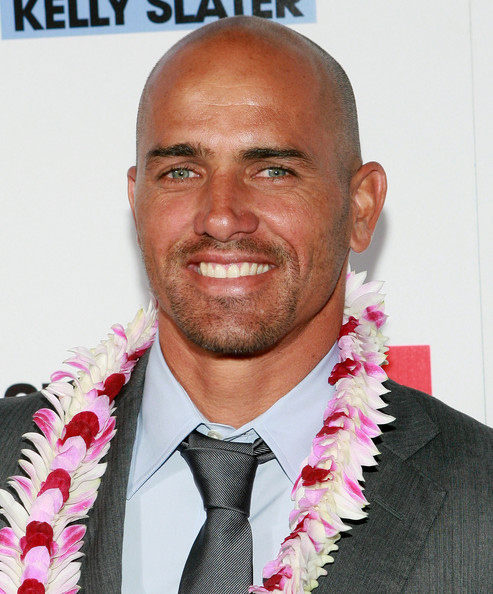 Kelly Slater Pro surfer Kelly Slater attends the IMAX screening of