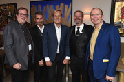 Deadline's Pete Hammond, Thomas Levassor, Randal Kleiser, IMDb Senior Film Editor Keith Simanton and IMDb Founder and CEO Col Needham attend IMDb's 2018 Cannes Dinner Party during the 71st Annual Cannes Film  Festival at Table 22 on May 14, 2018 in Cannes, France.