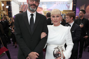 Eric White and Patricia Arquette attend IMDb LIVE After the Emmys Presented by CBS All Access on September 22, 2019 in Los Angeles, California.