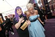 Kelly Osbourne and Jenny McCarthy attend IMDb LIVE After the Emmys Presented by CBS All Access on September 22, 2019 in Los Angeles, California.