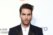 Jon Kortajarena walks the red carpet at the Elton John AIDS Foundation Academy Awards Viewing Party on February 09, 2020 in Los Angeles, California.