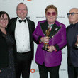 Elton John and Col Needham Photos