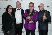 Elton John and Col Needham Photos Photo