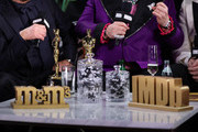 Elton John and Bernie Taupin's Academy Awards for Best Original Song are seen at IMDb LIVE Presented By M&M'S At The Elton John AIDS Foundation Academy Awards Viewing Party on February 09, 2020 in Los Angeles, California.