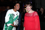Actors Aisha Tyler (L) and Melanie Lynskey attend IMDb LIVE Viewing Party, presented by OREO chocolate candy bar on February 26, 2017 in Hollywood, California.