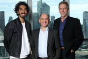 Actor Dev Patel, director Armando Iannucci and actor Hugh Laurie of 'The Personal Story of David Copperfield' attend The IMDb Studio Presented By Intuit: QuickBooks Canada at the 2019 Toronto International Film Festival at Bisha Hotel & Residences on September 06, 2019 in Toronto, Canada.