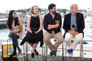 Aparna Nancherla, Lily Stuart Streiff, Frank Lesser and Kelsey Grammer speak onstage at the #IMDboat at San Diego Comic-Con 2019: Day Three at the IMDb Yacht on July 20, 2019 in San Diego, California.
