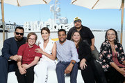 Jake Johnson, Cole Sibus, Cobie Smulders, Michael Ealy, Camryn Manheim, Adrian Martinez and Tantoo Cardinal attend the #IMDboat at San Diego Comic-Con 2019: Day Two at the IMDb Yacht on July 19, 2019 in San Diego, California.