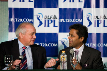 Leandro Negre IPL And FIH Joint Press Conference