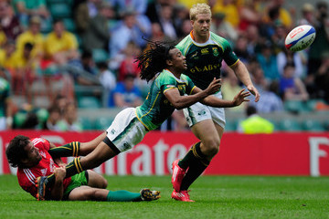 Diogo Mateus IRB London Sevens - Day One