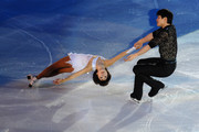 Dan Zhang and Hao Zhang of China participate in the Gala Exhibition during the 2010 ISU World Figure Skating Championships on March 28, 2010 in Turin, Italy.