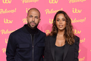 Marvin Humes and Rochelle Humes attends the ITV Palooza 2019 at the Royal Festival Hall on November 12, 2019 in London, England.
