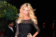 """Victoria Silvstedt attends the IWC Schaffhausen and DuJour Magazine's Jason Binn's celebration of """"Timeless Portofino"""" during Art Basel Miami Beach at The W Hotel South Beach on December 3, 2014 in Miami, Florida."""
