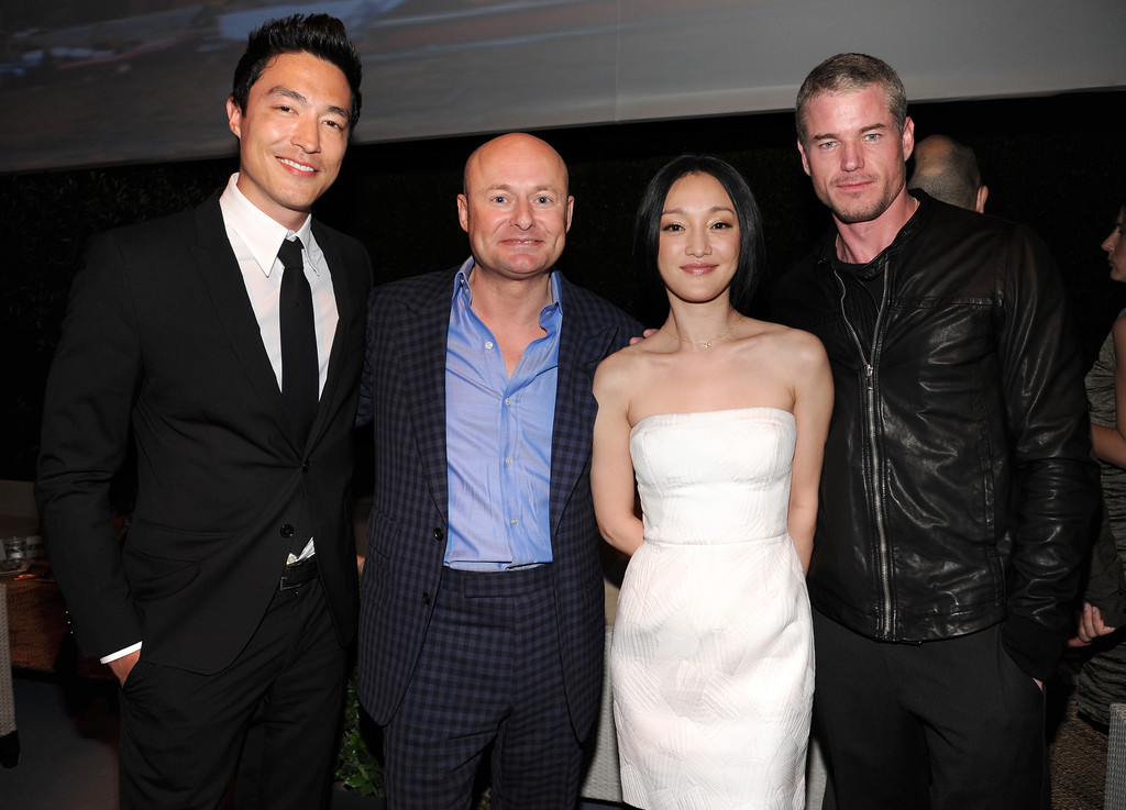 Daniel Henney And Maggie Daniel Henney And Xun Zhou