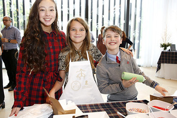 Iain Armitage Raegan Revord Brooks Brothers Hosts Annual Holiday Celebration To Benefit St. Jude At West Hollywood EDITION