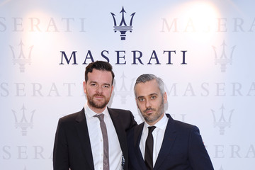 Iain Canning Celebs Hang Out at Terrazza Maserati