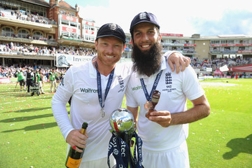 Ian Bell Moeen Ali England v Australia: 5th Investec Ashes Test - Day Four