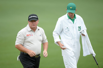 Ian Cox The Masters: Round One