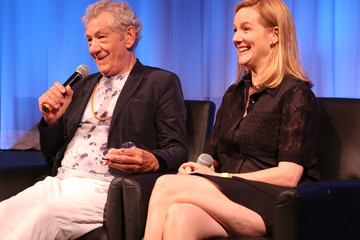 Ian McKellen Laura Linney The Academy of Motion Picture Arts and Sciences Hosts an Official Academy Screening Of 'Mr. Holmes'
